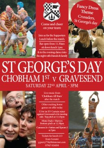 St Georges poster