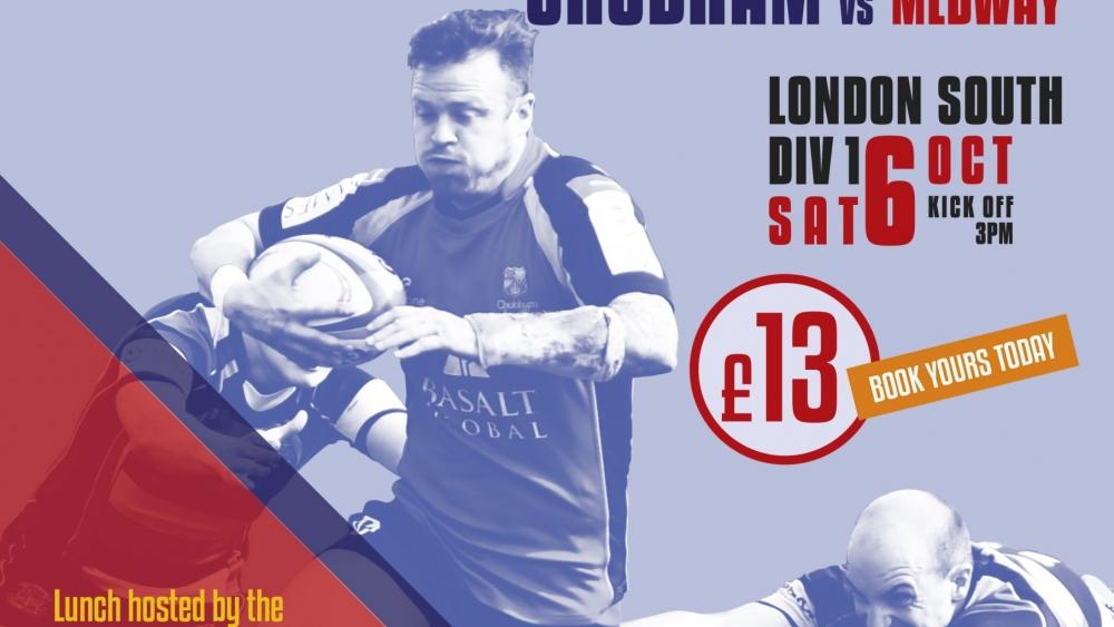 Match poster Medway