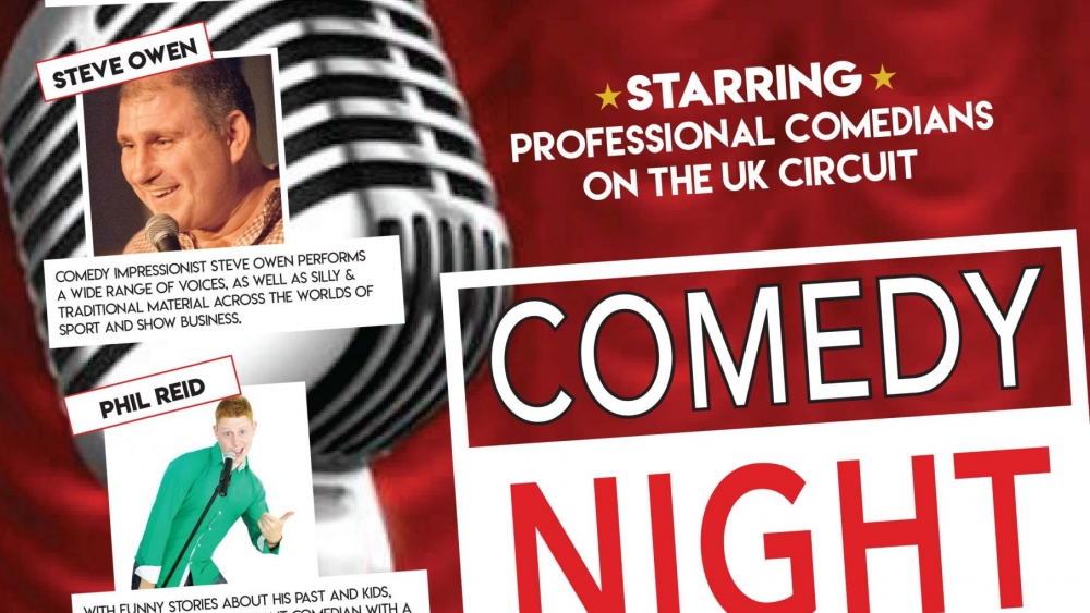 Comedy Night poster STARS