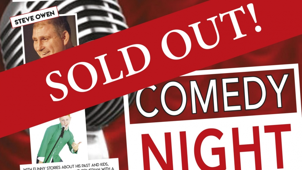 Comedy Night poster Sold Out